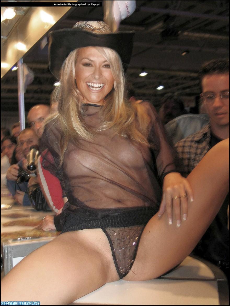 Anastacia fake nude || Too big cock