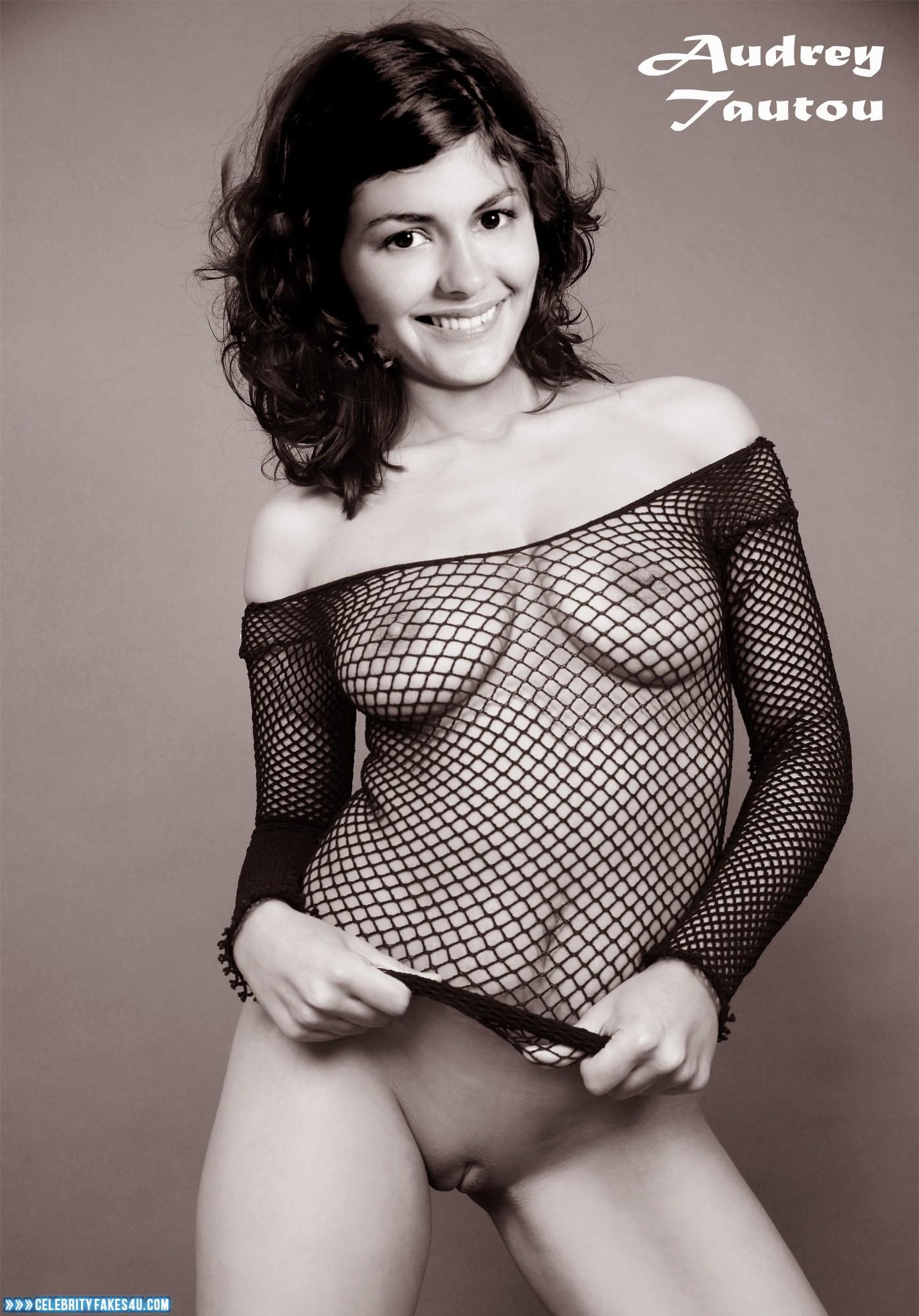 Audrey Tautou Camel Toe Pantieless Naked 001 ...