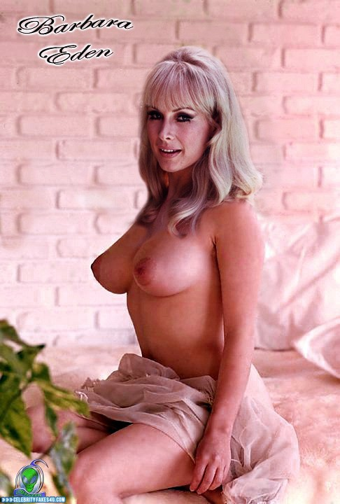 Barbara eden nude pic