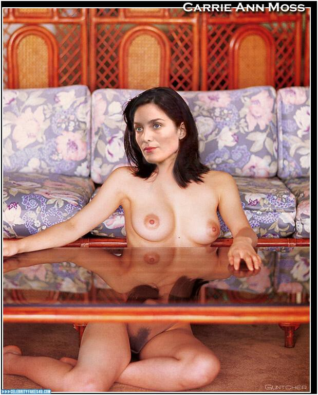 carrie anne moss nude video № 66643