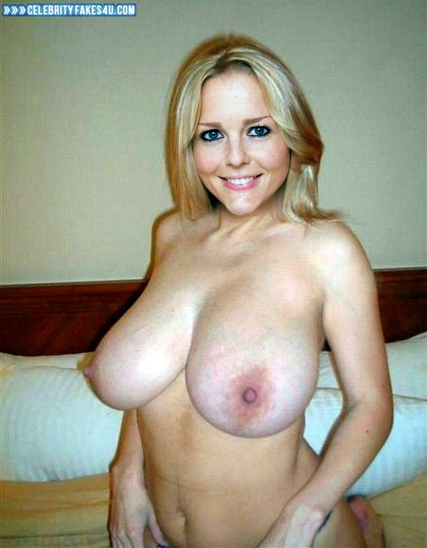 image Blonde with huge tits masturbates on cam