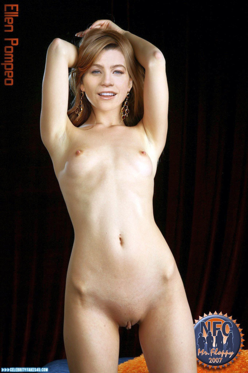 Ellen Pompeo Naked Body Small Tits Fake 001 ...