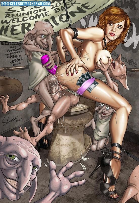порно в гермионой