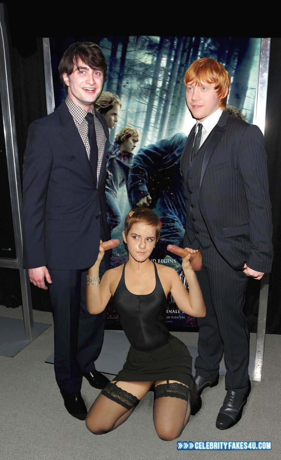 potter fakes pictures harry emma watson