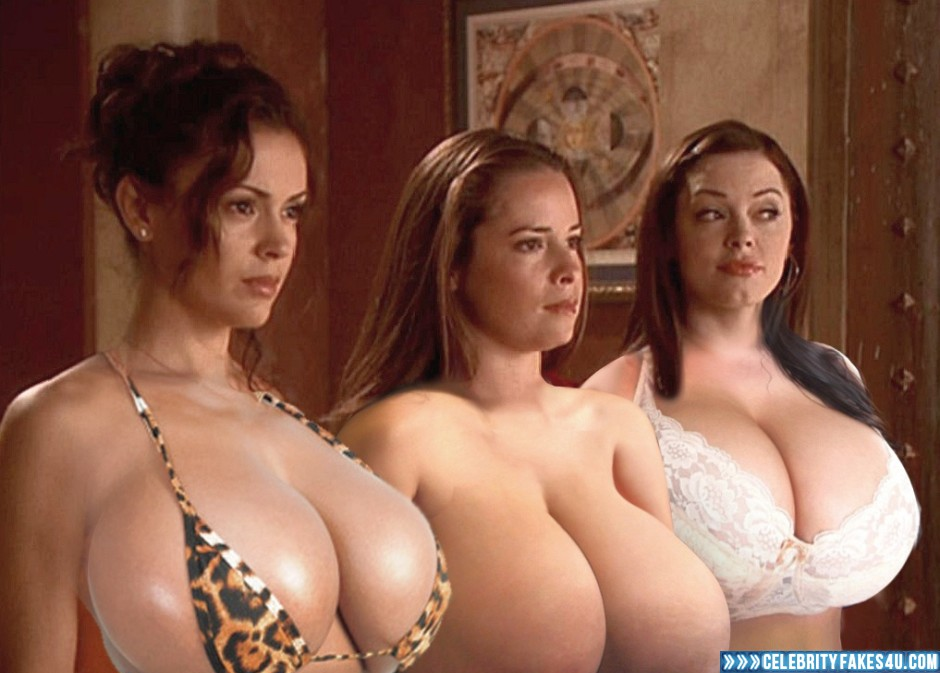 Charmed girls cum fakes