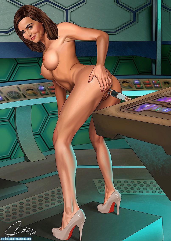 Jenna Louise Coleman Cartoon Ass Cheeks Spread Nude Fake ...