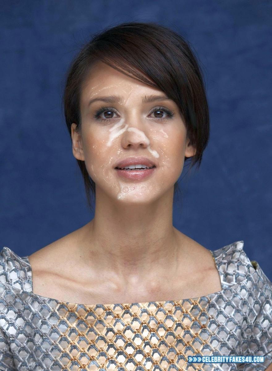 Celebrity Cumshots Blog - Celebrity Facial Cumshot Fakes
