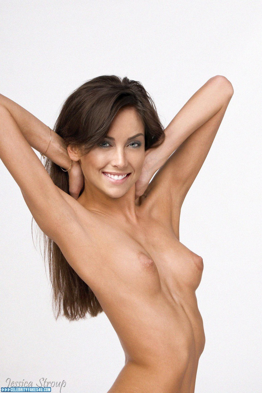 Jessica Stroup Tits Topless Porn Fake 001 ...