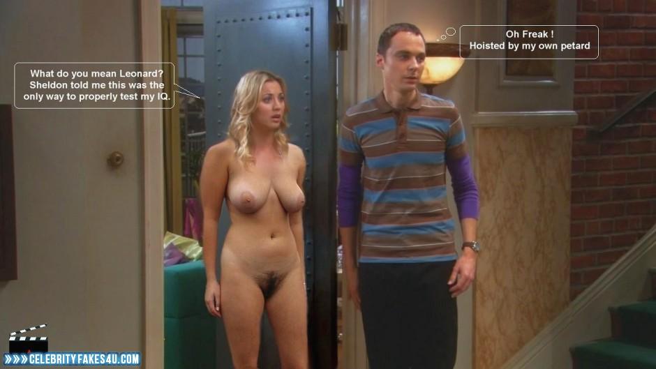 Big bang theory fake nudes