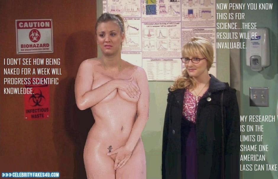 Big bang theory fake nude