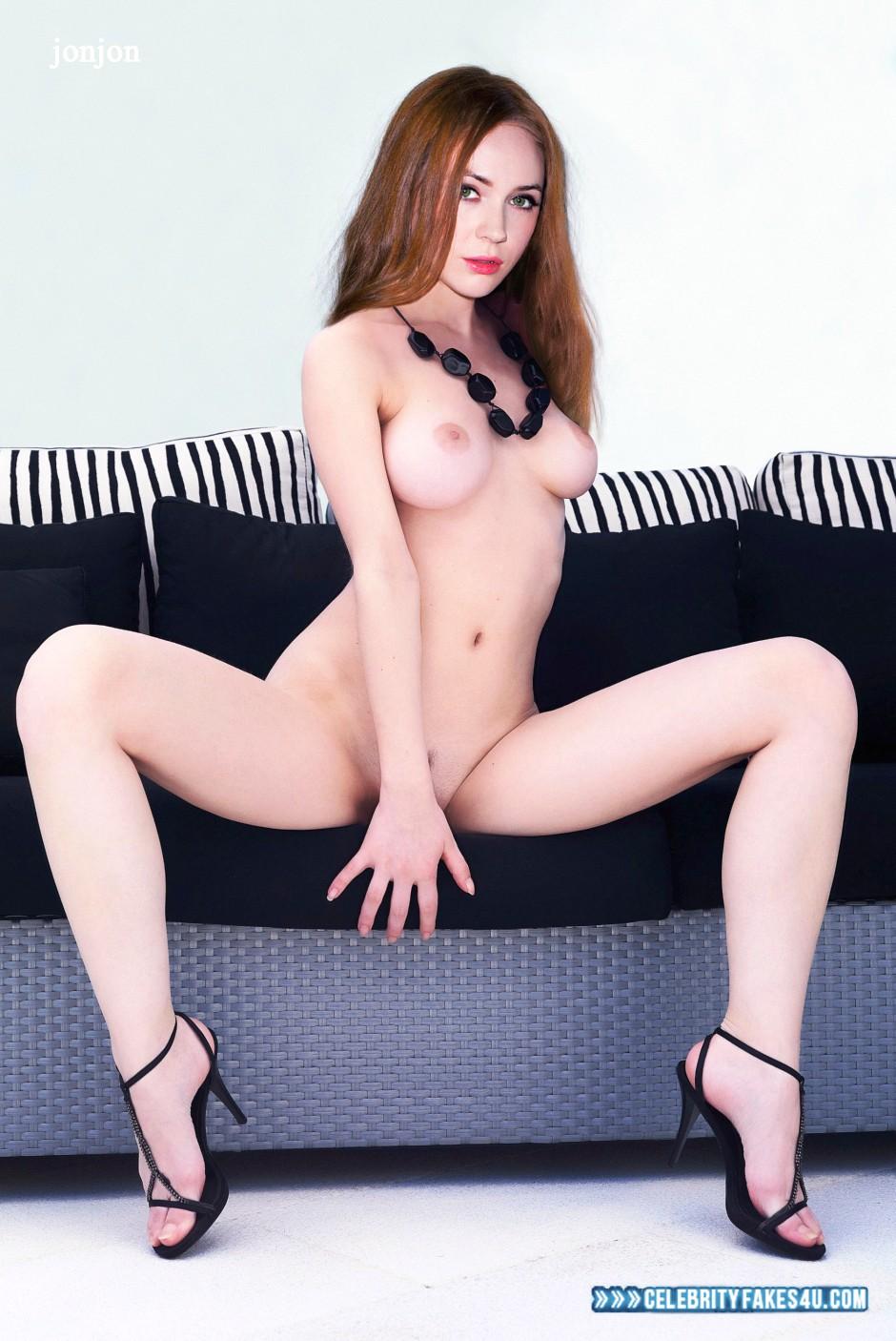 Karen Gillan Legs Hot Tits Fake 001 « CelebrityFakes4u.com