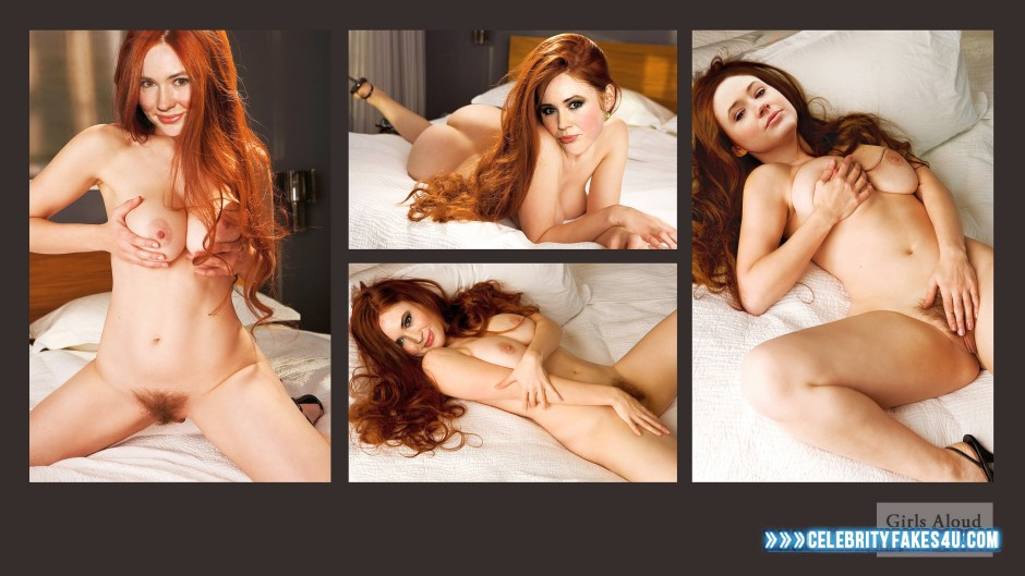 Karen gillan faux nus