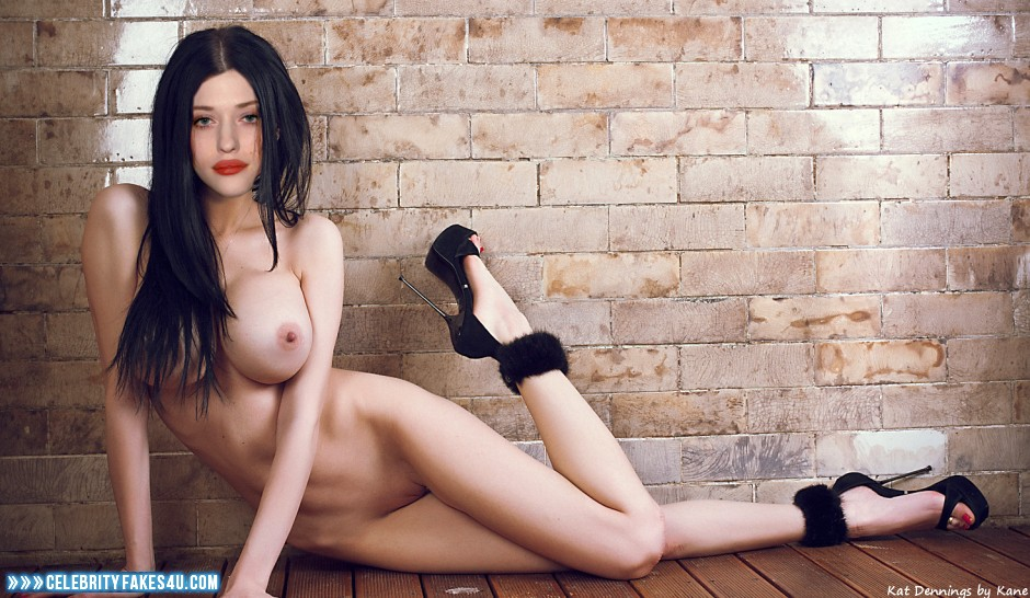 Kat denning big tits