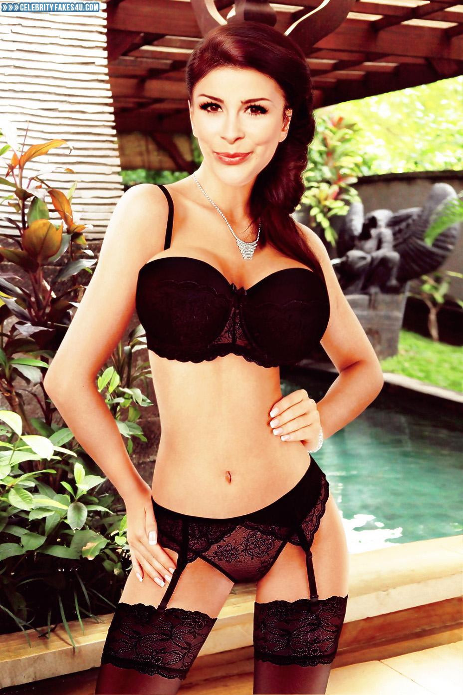 Lena Meyer Landrut Sexy Lingerie Nude - Fake 006