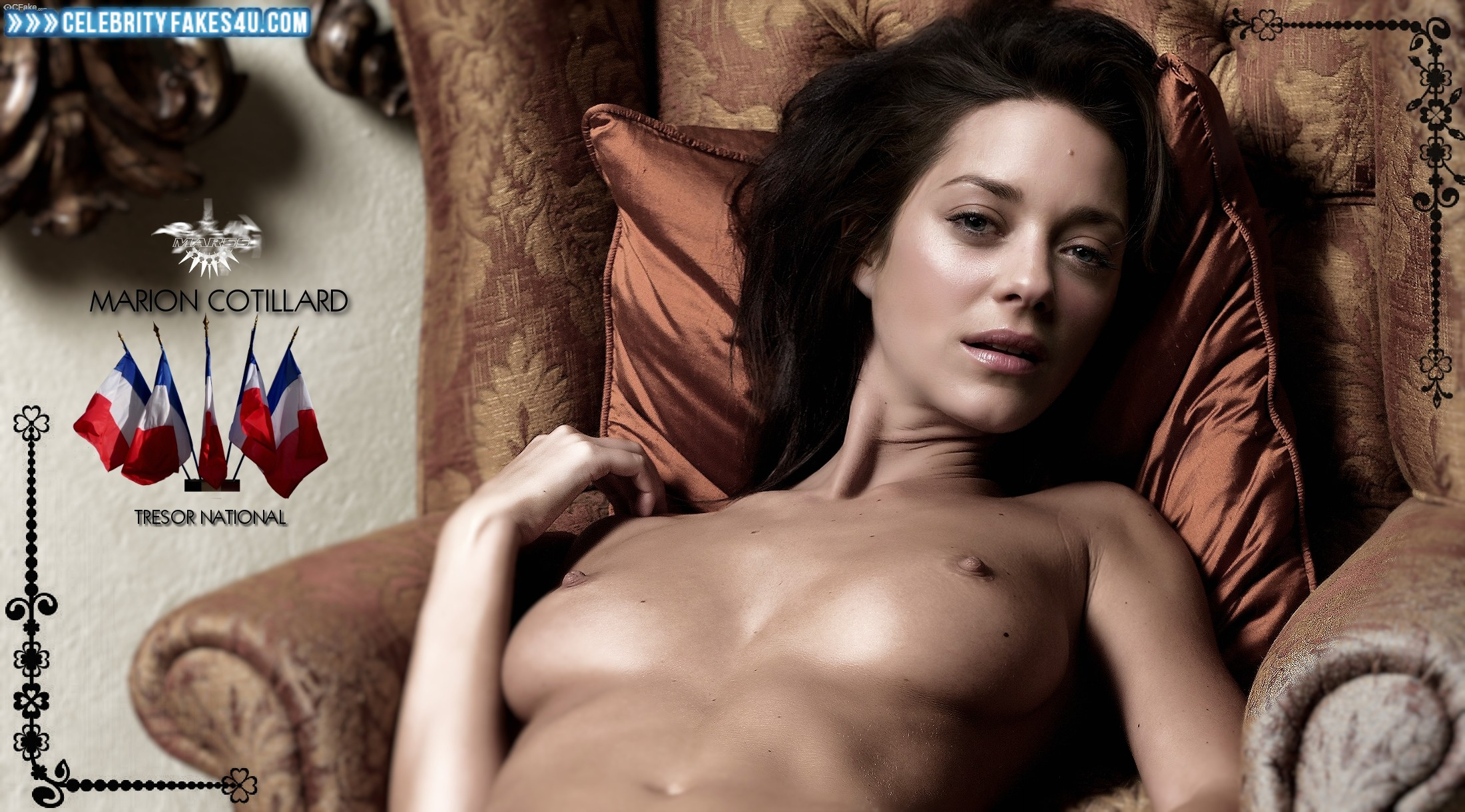 Нагая порноактриса Марион Котийяр смотреть онлайн 3 фото