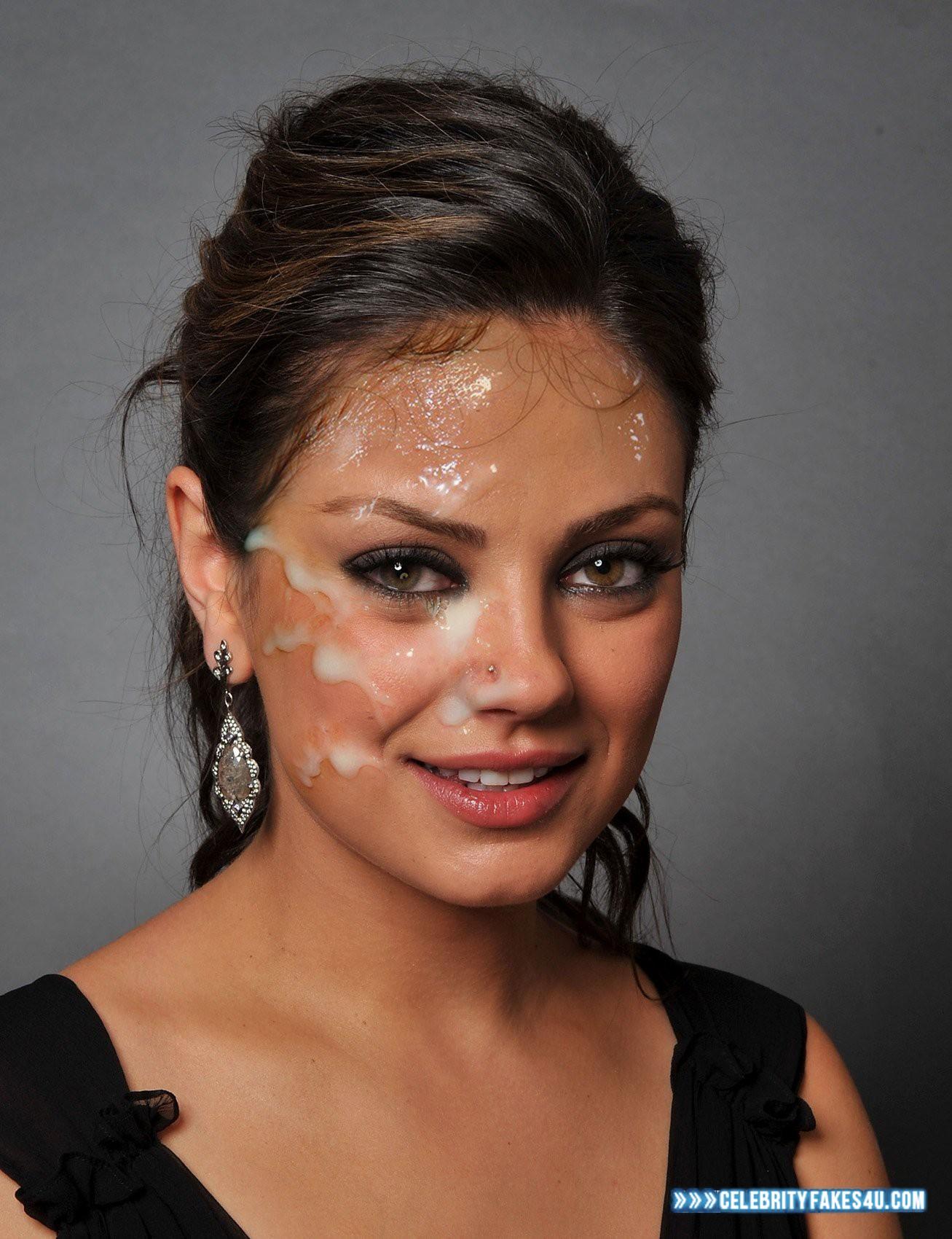 Mila Kunis Facial Cumshot Porn 001 « CelebrityFakes4u.com
