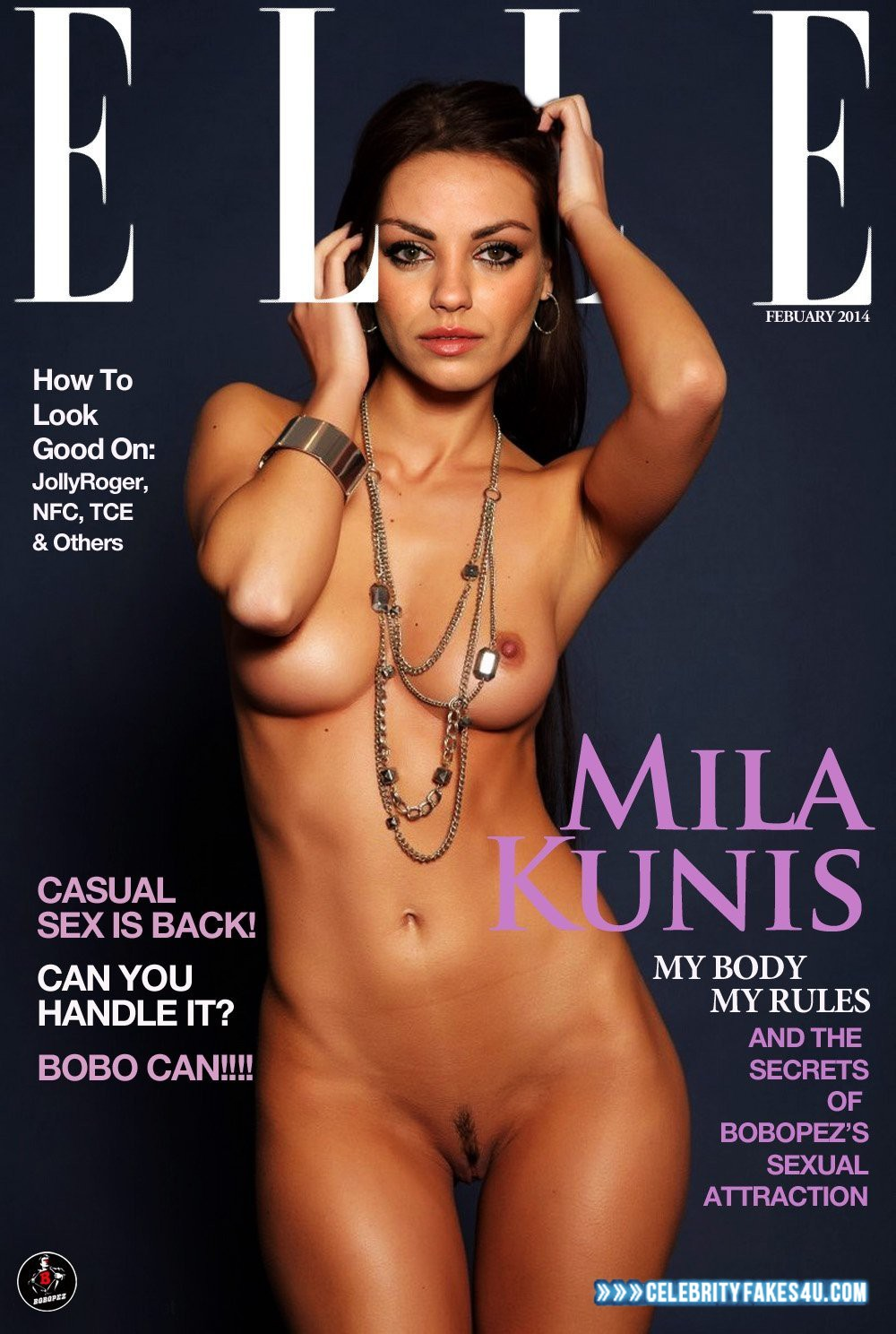 Mila Kunis Nackt