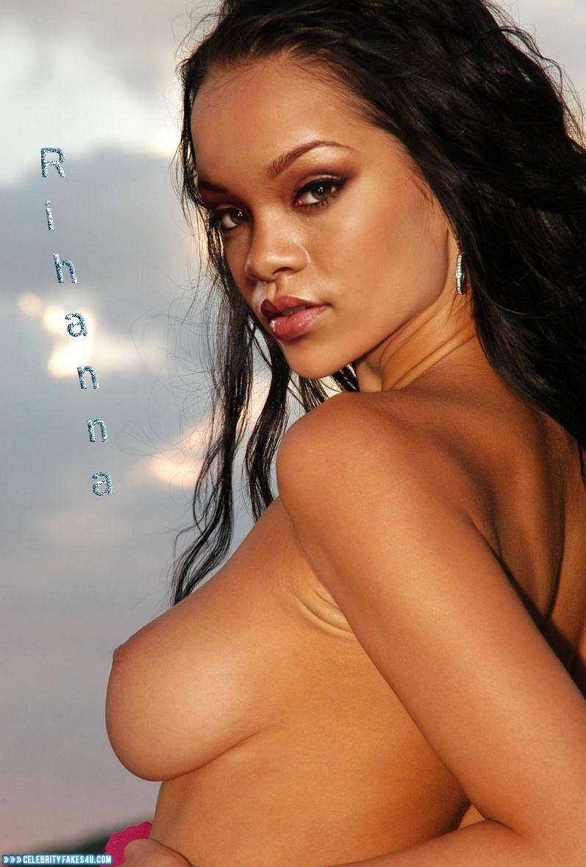 Rihanna handjob
