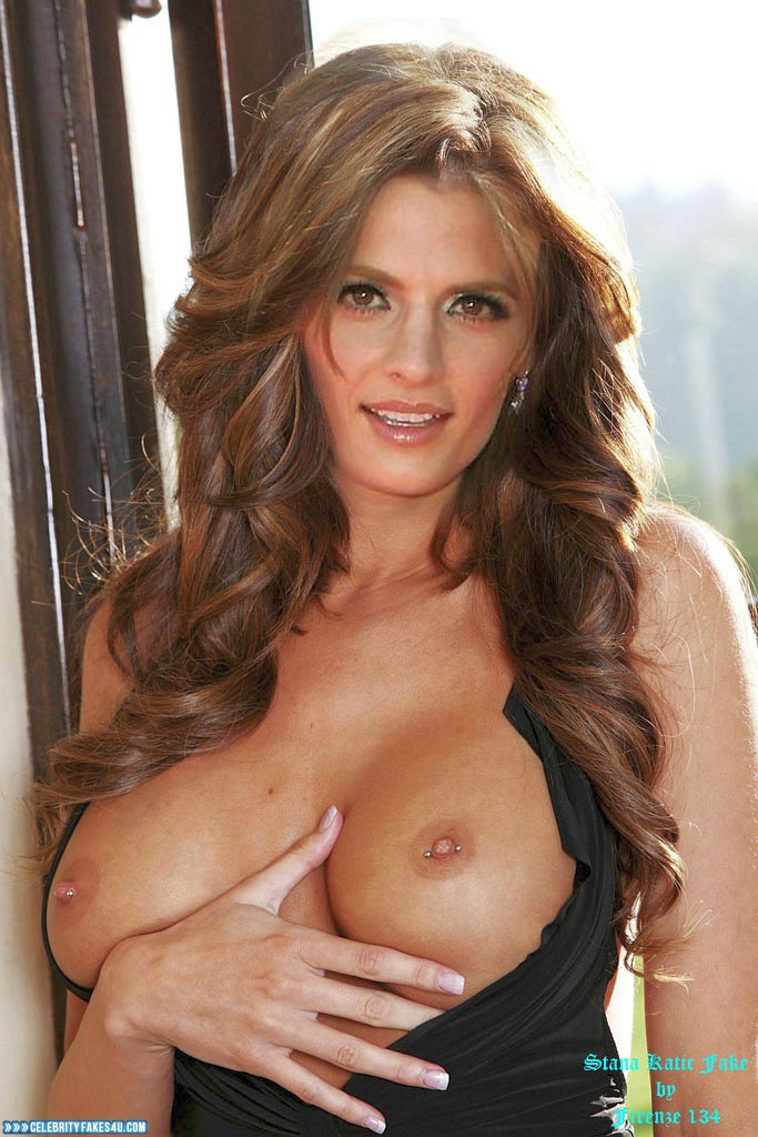 Stana katic nude fakes boobs